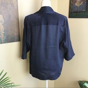 Ellesse Jackets & Coats - Vintage Ellesse 1980's linen and suede jacket